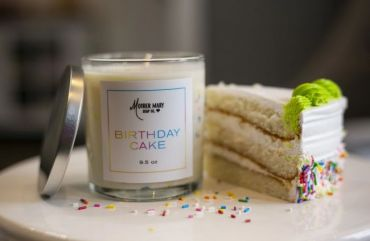 Mother Mary - Peppermint Cornmeal Cupcake Soap