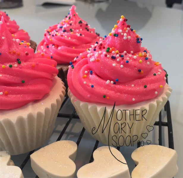 Mother Mary - Soap Cupcakes4