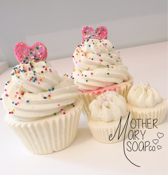 Mother Mary - Vanilla Bean Cupcake Soap