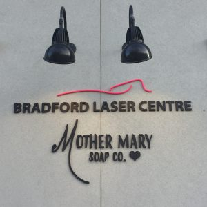Bradford Laser Centre and Mother Mary Soap Co.